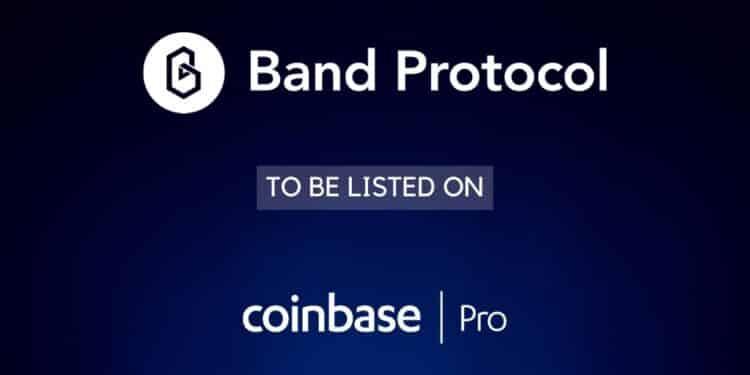 Coinbase Pro Lists Band Protocol (BAND)