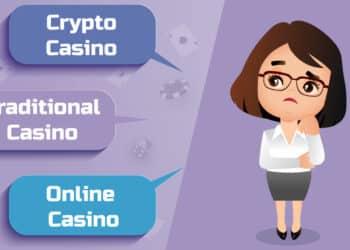 Crypto vs. Traditional vs. Online Casino